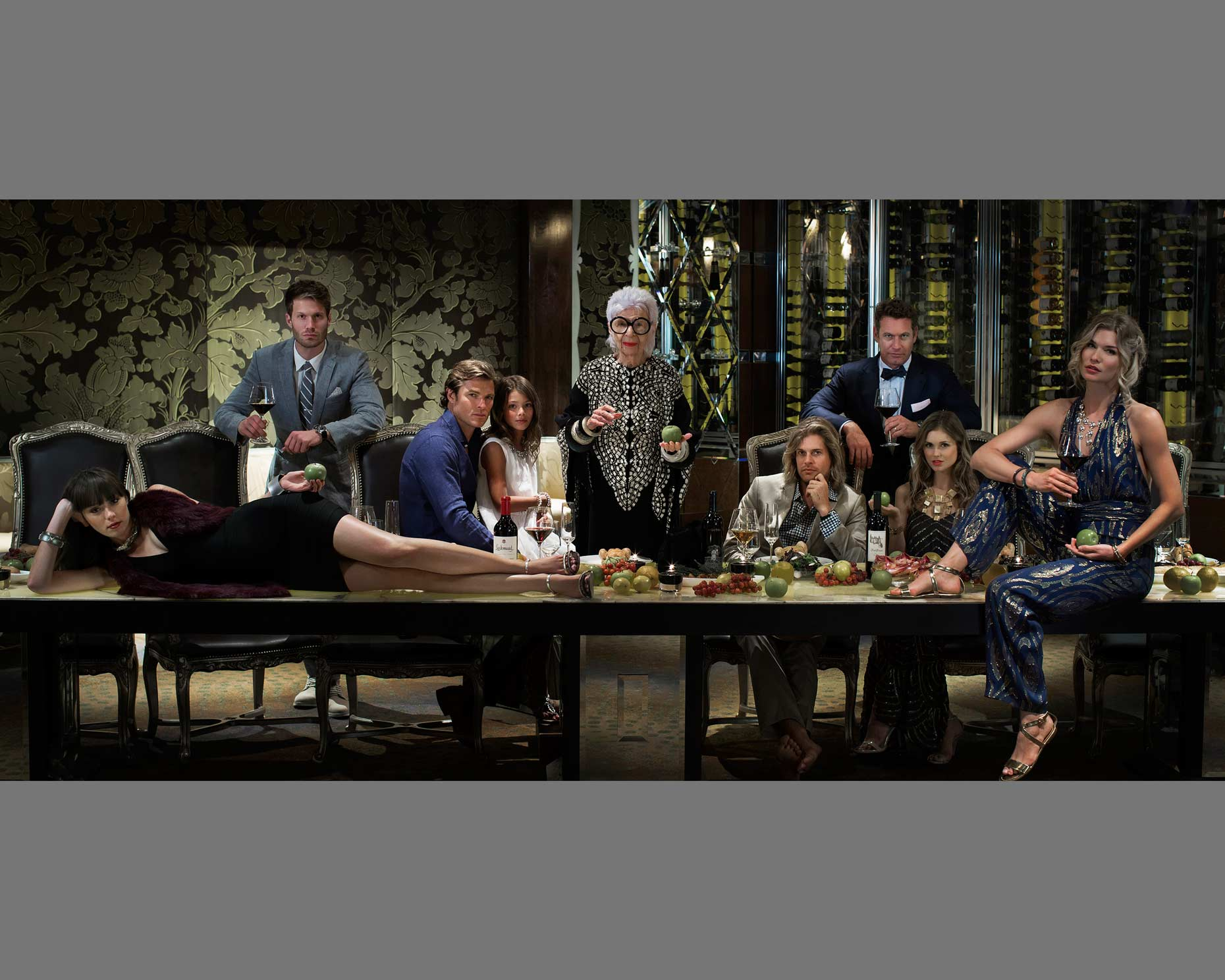 Last Supper,Iris Apfel,Thomas Hart Shelby